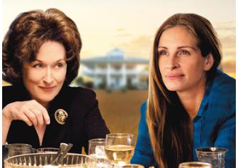 「8月の家族たち」を観ました。俳優陣の演技はすごいけど家族の問題を抱えた人には重い映画